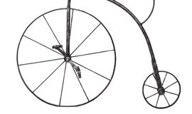 Iron wheels Royalty Free Stock Images