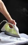 Iron white cloth Royalty Free Stock Photos