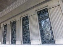 Iron Windows Stock Image