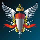 Iron Wings Royalty Free Stock Images
