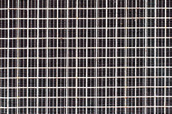 Iron wire at the back of air conditioner texture background Royalty Free Stock Photography