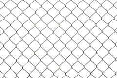 Iron wire fence Royalty Free Stock Photo