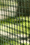 Iron wire fence Royalty Free Stock Photos