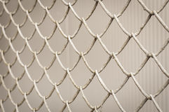 Iron wire fence, imprisonment concept Stock Images