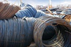 Iron wires Stock Image