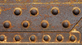 Iron wit rust Stock Image