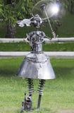 Iron woman Royalty Free Stock Image
