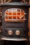 Iron wood stove. Stock Photography