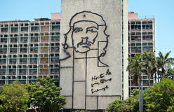 Iron work of Che Guevara image in Havana Cuba Stock Image