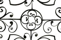 Iron work detail. Royalty Free Stock Photo