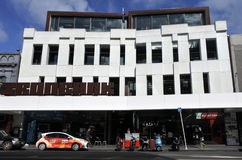 Ironbank που χτίζει το Ώκλαντ Νέα Ζηλανδία Στοκ φωτογραφίες με δικαίωμα ελεύθερης χρήσης