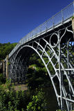 The Ironbridge. In Telford, built in 1779, the worlds first made with iron, and now a world heritage site Royalty Free Stock Photo