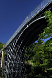 The Ironbridge. In Telford, built in 1779, the worlds first made with iron, and now a world heritage site Stock Images