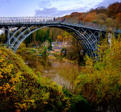 Ironbridge Stockfoto