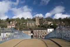 Ironbridge. Inglaterra Imágenes de archivo libres de regalías