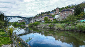 Ironbridge Shropshire Fotografia Stock