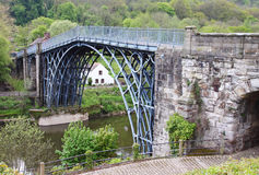 The Ironbridge in Shropshire Stock Photo