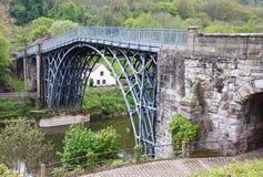 The Ironbridge in Shropshire stock photo