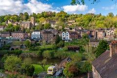 Ironbridge, Shropshire, Engeland, het UK stock afbeelding
