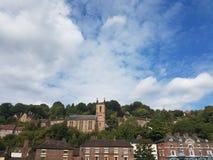 Ironbridge-Stadt lizenzfreies stockfoto