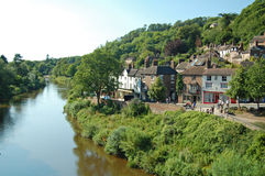 Ironbridge town Royalty Free Stock Photo
