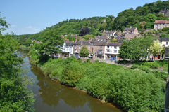 Ironbridge Wharfage Stock Image