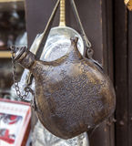 Ironcasting Flask Royalty Free Stock Photography