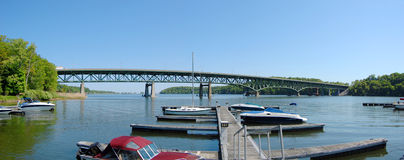 Irondequoit Bay Bridge Stock Image