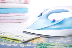 Ironed Laundry Royalty Free Stock Photos