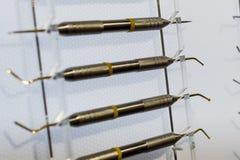 Ironer de Shtpfer, instrument dentaire photo stock