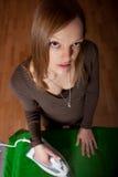 Ironing Royalty Free Stock Photography
