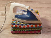 ironing Stock Afbeelding