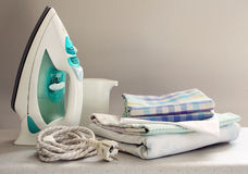 Ironing Royalty Free Stock Images