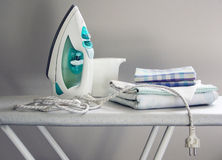 Ironing Royalty Free Stock Photo