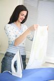 Ironing Stock Photography