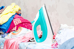 Ironing board Stock Photos