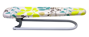 Ironing board armrest sleeve boards. On white. PNG available. Ironing board armrest sleeve boards. Isolated on white background. With colorful leaves. PNG Royalty Free Stock Photography