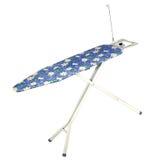 Ironing board isolated. Flower ironing board isolated on white background Royalty Free Stock Image