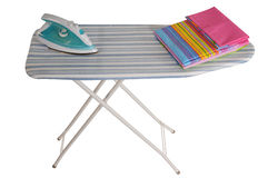Ironing board. Isolated Stock Photos