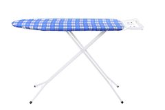 Ironing board isolated on a white background Royalty Free Stock Image
