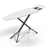 Ironing Board on White Background Stock Photography
