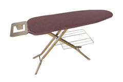 Ironing Board on White Royalty Free Stock Photo