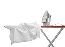 Ironing clothes Stock Photos