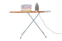 Ironing clothes Royalty Free Stock Photos