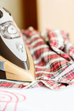 Ironing Clothes Stock Images