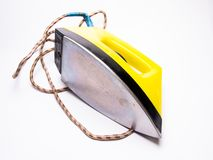 Ironing iron close-up, electrical appliances. Water, object, lifestyle stock images