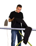 Ironing Mistake Stock Image