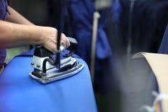Ironing. Stock Photo