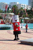 Ironkids 2011 mascot, South Africa royalty free stock photo