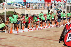Ironkids 2011, South Africa Stock Image